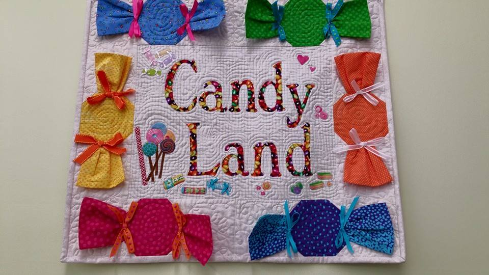 Quilted Bliss Candy Land