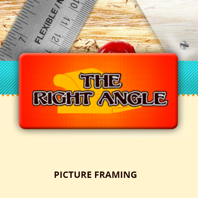 The Right Angle Professional Picture Frame Shop in Wolflin Square Amarillo TX